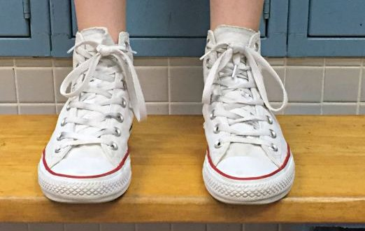 how to clean white shoes with borax