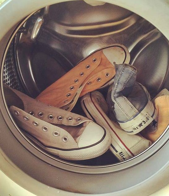How To Wash Your Shoes In The Washer Machine