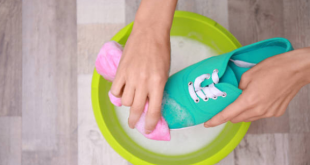 How To Clean & Wash Shoes By Hand