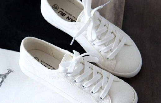 How To Clean White Canvas Shoes Without Turning Them Yellow