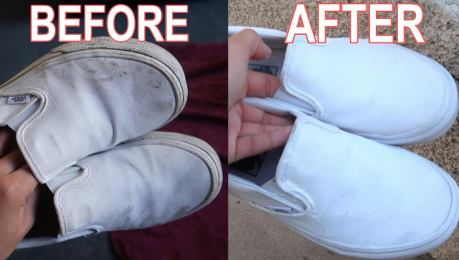 How To Clean White Vans With Oxiclean Powder