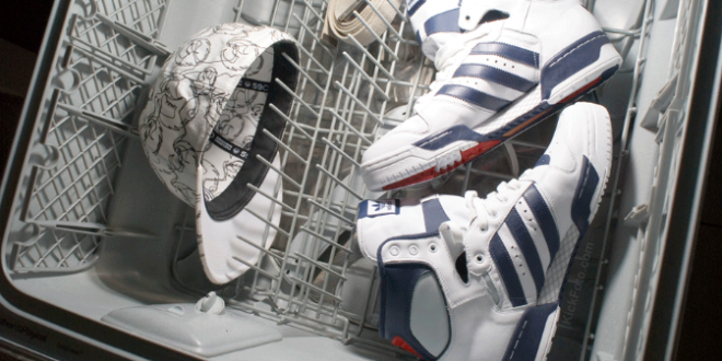 Washing Shoes In Dishwasher How To Wash Tennis Shoes Can You Put Sneakers In The Dishwasher Cleaning Shoes In The Washer